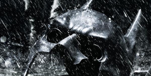 Broken Batman mask 2012