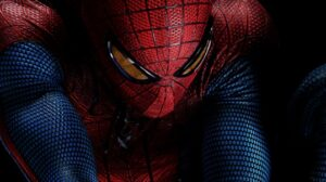 The Amazing Spider-man close up