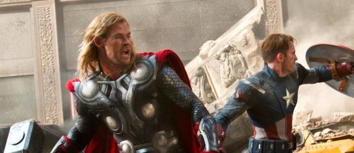 Avengers Thor Chris Hemsworth 2012