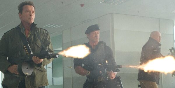 The Expendables 2 Guns 2012