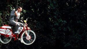 Pee-wee's big adventure bike