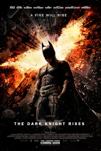 The Dark Knight Rises Poster A Fire Will Rise