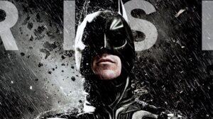 TDKR Batman Rain 2012