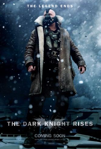 TDKR Bane Snow Poster