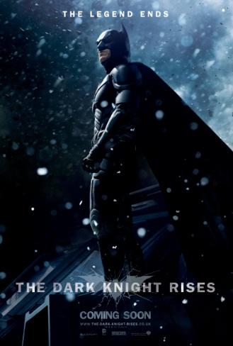 TDKR Batman Snow Poster