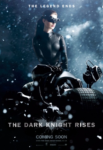 TDKR Catwoman Snow Poster