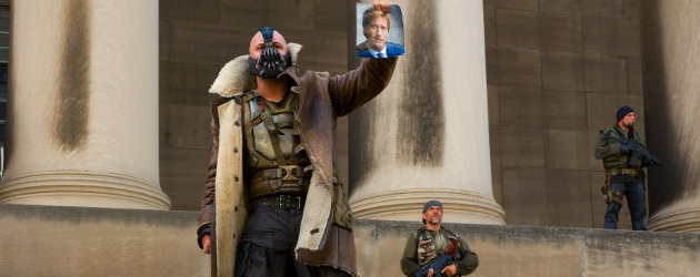 The Dark Knight Rises Bane Tom Hardy 2012