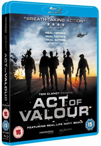 Act of Valour Blu-ray
