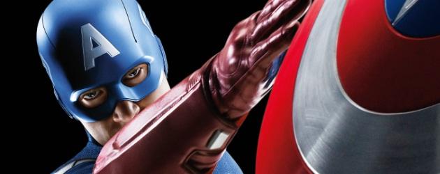 Captain America Avengers Poster 2012
