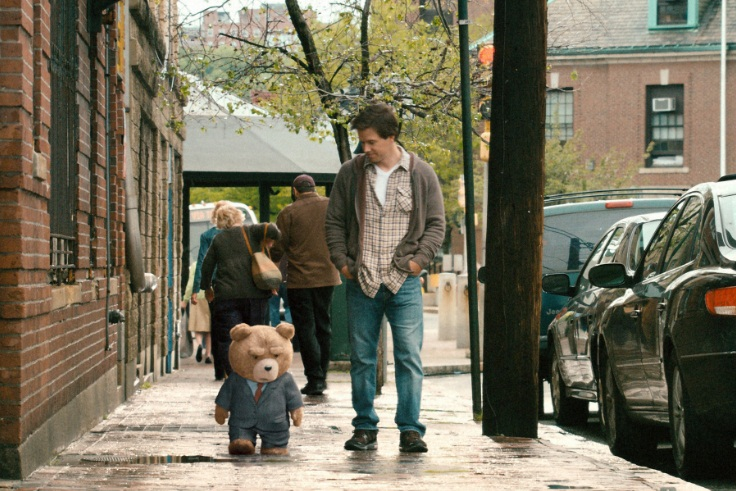Ted suit Mark Wahlberg 2012