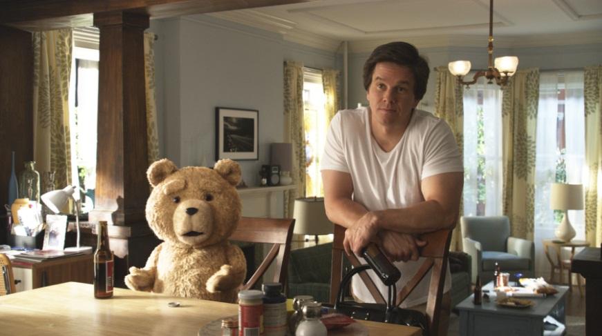 Ted Mark Wahlberg shock 2012