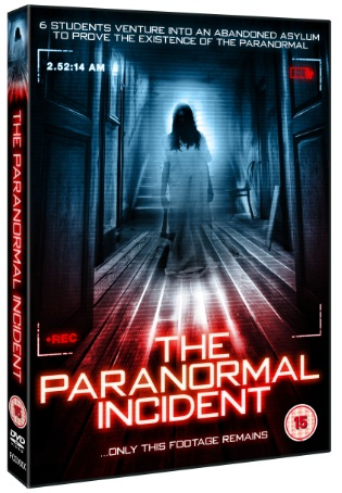 the paranormal incident dvd 2012