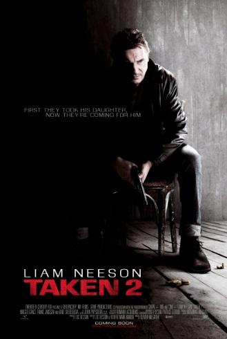 Taken 2 Poster 2012
