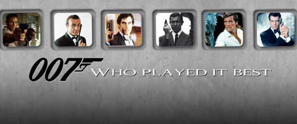 Who Played It Best James Bond