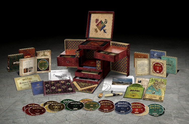 Harry Potter Wizard's Collection 2012