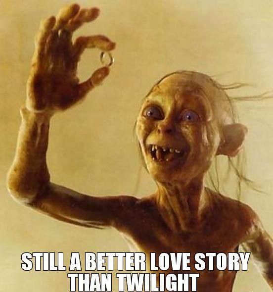 LOTR Meme Better Love Story