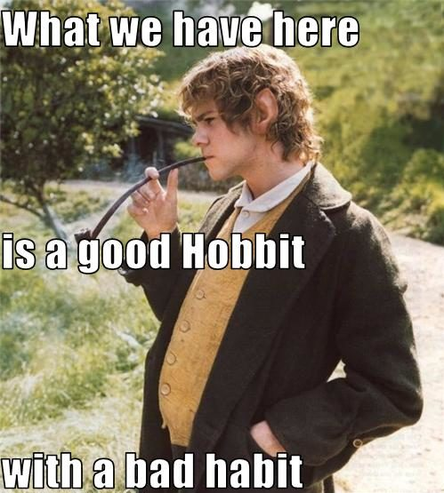 LOTR Meme Bad Hobbit