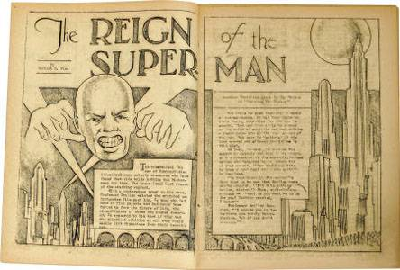 1932 superman comic book