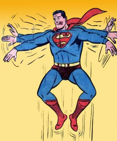 Superman-trying-to-fly