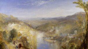 A Landscape painted by Turner