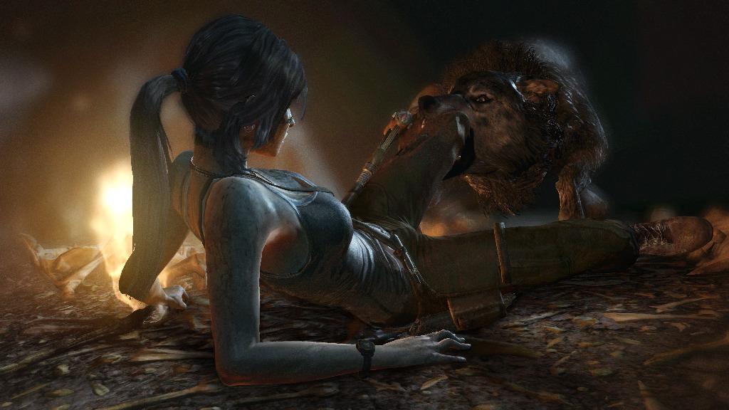 Tomb Raider - Wolf Attack