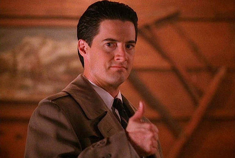 dale cooper thumbs up